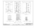 Burlington County Prison, 128 High Street, Mount Holly, Burlington County, NJ HABS NJ,3-MOUHO,8- (sheet 16 of 24).png
