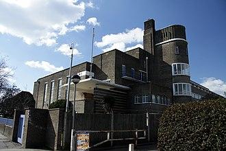 Ark Burlington Danes Academy - Image: Burlington Danes Academy school in London, spring 2013 (1)