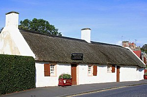 Burns Clubs - Burns Cottage, Alloway, Scotland.
