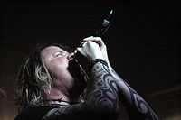Burton C. Bell from Fear Factory at a gig in Cracow, Poland.jpg