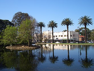 Burwood, New South Wales - Lake in Burwood Park