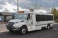 Bus 1202 on YCTA route 33 at Hillsboro Transit Center in 2015.jpg