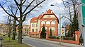 Bydgoszcz - dojazd do placu Józefa Weyssenhoffa, po lewej budynek uniwersytetu. - panoramio.jpg