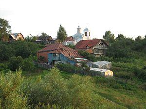 Fedyakovo, Nizhny Novgorod Oblast - The village of Fedyakovo