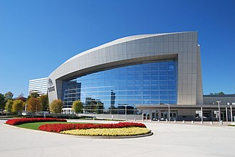 Cobb Energy Performing Arts Centre - Image: CEPAC Courtyard