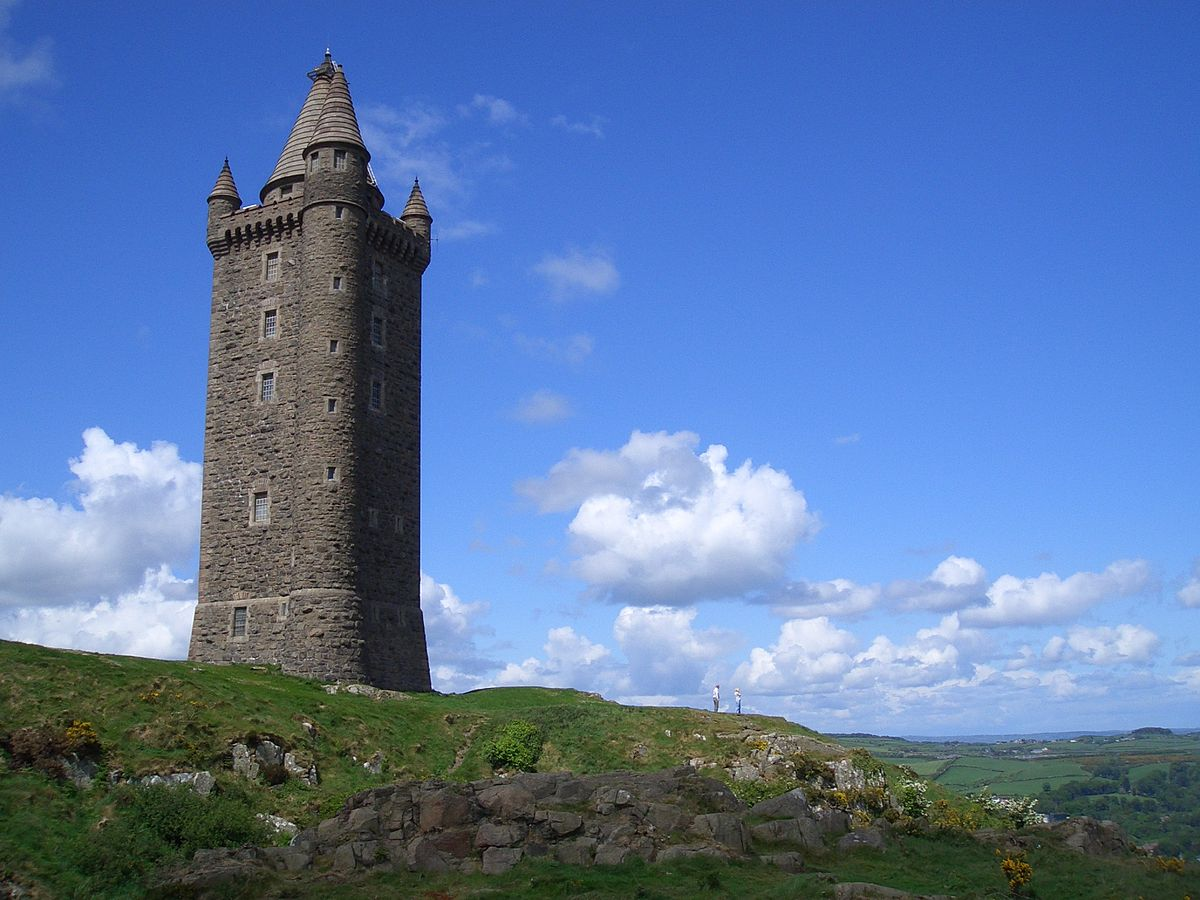Scrabo Tower Wikipedia - Irish landmarks