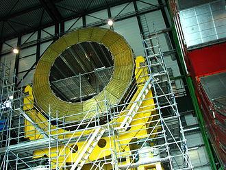 Compact Muon Solenoid - Half of the Hadron Calorimeter
