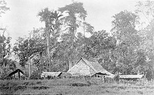 Balai nagari Lubuak Gadang ( Kabupaten Solok Selatan ) pada tahun 1877