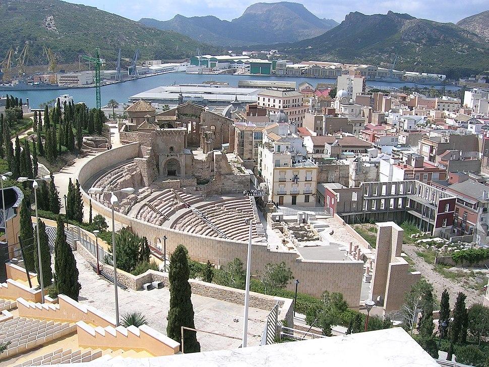 CT teatro romano y catedral