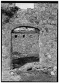 CURING AND STORAGE HOUSE, DETAIL OF DOORWAY - Estate Annaberg, Annaberg, St. John, VI HABS VI,2-MABA,1-7.tif