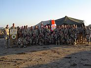 C CO, 52 IN - Christmas Picture, CPT Molfino & 1SG Coulter, FOB Pacesetter