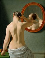 C W Eckersberg 1841 - Kvinde foran et spejl.jpg