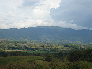 Pantaron Mountain Range - Pantaron Mountain Range at Cabanglasan, Bukidnon.