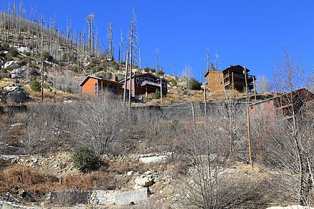 Cabins atop Mt Lemmon in Summerhaven Cabins atop Mt Lemmon in Summerhaven.jpg