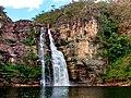 Cachoeira dos Saltos - 80 metros. Parque Nacional da Chapada dos veadeiros.jpg