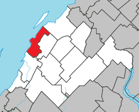 Cacouna Quebec location diagram.png