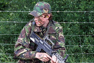 Army Cadet Force - A cadet with the L98A1 Cadet General Purpose Rifle