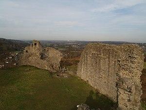 Caergwrle - Caergwrle Castle.