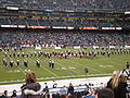 Cal Band performing pregame at 2008 Emerald Bowl 11.JPG