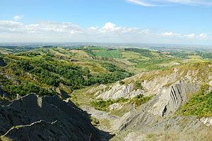 Sillaro - Sillaro descending towards the Po valley