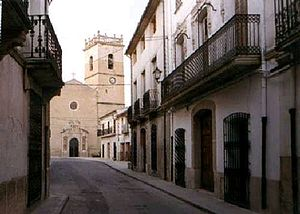 Carrer Major de Castalla