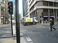 Camden roadsweeper at the City Boundary in Moorgate - geograph.org.uk - 1831083.jpg