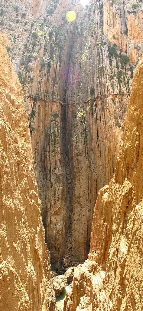 西班牙Gaitanes峡谷国王步道(El Caminito del Rey)重新开放 - wuwei1101 - 西花社