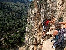 Klettersteig Caminito Del Rey : Caminito del rey u2013 wikipedia
