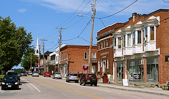 Campbell's Bay, Quebec - Front Street