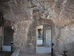 Insula Romana, internal dwellings at the 2nd floor