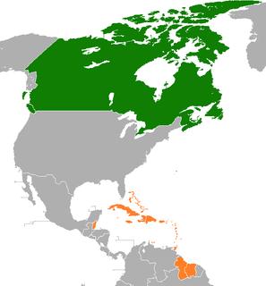 Canada–Caribbean relations Diplomatic relations between Canada and Caribbean