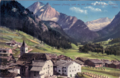 Canazei (Fassa), 1468 m, mit Vernel, 3205 m, u. Contrin, Tirol.png