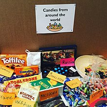 Candy table at Wikimedia Conference.jpg