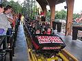 Canobie Lake Park Rollercoaster train.jpg