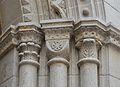 Capitells de la portalada de l'església del col·legi de l'escolania de la mare de Déu dels Desemparats, València.JPG