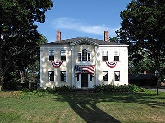 Agawam, Massachusetts - Capt. Charles Leonard's house