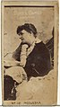 Card Number 110, Modjeska, from the Actors and Actresses series (N145-4) issued by Duke Sons & Co. to promote Cameo Cigarettes MET DP839973.jpg