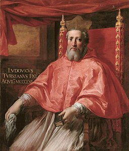 Cardinal Ludovico Turriano, Patriarch of Aquilea, by Roman School of the17th century.jpg