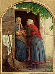 To koner, der taler sammen