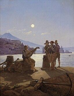 Carl Gustav Carus - Italienische Fischer im Hafen von Neapel