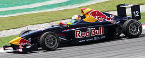 Carlos Sainz Jr. - Sainz during Race 1 of the 2010 Formula BMW Pacific season at Sepang International Circuit.