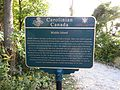 Carolinian Canada Marker, The Tip, Point Pelee National Park, Leamington, Ontario, Canada (21783267631).jpg