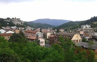 Carsoli - Image: Carsoli panoramica A25