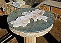 Carte en marbre de la wilaya de Médéa خريطة من رخام - panoramio.jpg