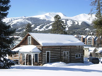 Edwin Carter - Edwin Carter Log Cabin Naturalist Museum (Circa 1875) Edwin Carter in Breckenridge, Colorado
