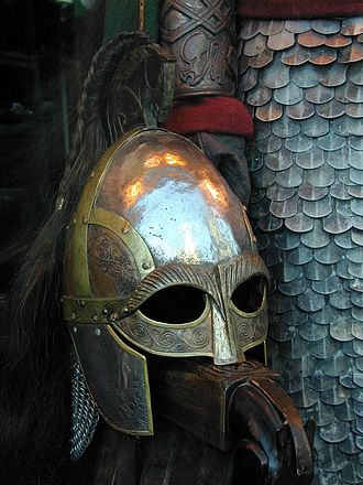 The Lord of the Rings (film series) - A helmet of the Rohirrim.