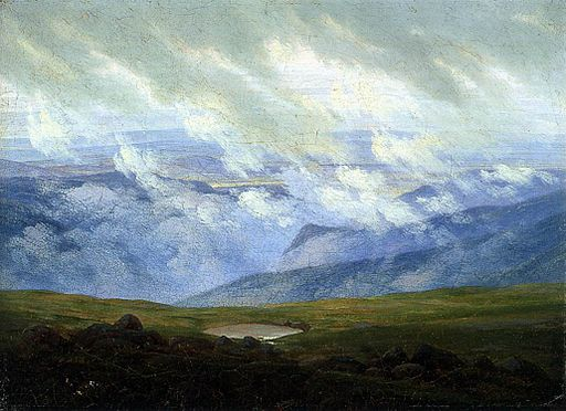 Caspar David Friedrich - Drifting Clouds - WGA8259