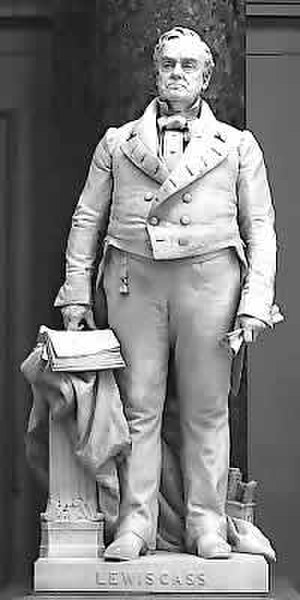 Lewis Cass (French) - The statue in the National Statuary Hall Collection