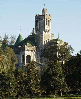 Castelo de D. Chica, Portugal.