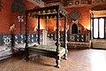 Castiglione olona, palazzo branda, interno, camera del cardinale 01.jpg